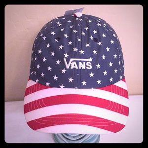 Vans Accessories - ONLY 1! Vans Patriotic Stars & Stripes Cap